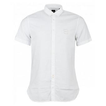 BOSS Magneton Short Sleeved Oxford Shirt