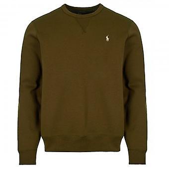 Polo Ralph Lauren Ralph Lauren Polo Schlichter Rundhals Sweatshirt Khaki Grün 710675313