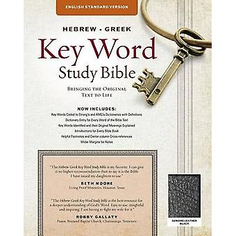 Hebrew-Greek Key Word Study Bible-ESV - Key Insights Into God's Word b