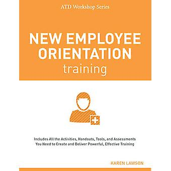 New Employee Orientation Training by Karen Lawson - 9781562869700 Book
