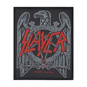 Slayer Black Eagle Woven Patch