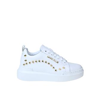 Marc Ellis Mesnk120 Women's White Leather Sneakers