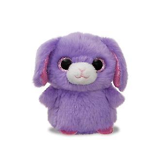 "Aurora Sparkle Tales Rose Rabbit Mini 4"" Soft Plush Cuddly Toy Purple"
