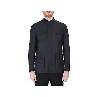 Emporio Armani Polyester Light Black Jacket
