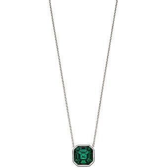 Elements Silver Imperial Cut kaulakoru - Hopea/Emerald Green