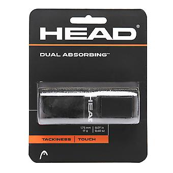 HEAD Dual Absorbierender Ersatz Grip Tennis Sport Zubehör