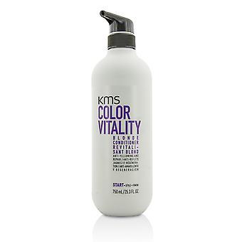 Kleur vitaliteit blonde conditioner (anti vergeling en reparatie) 210484 750ml/25.3oz