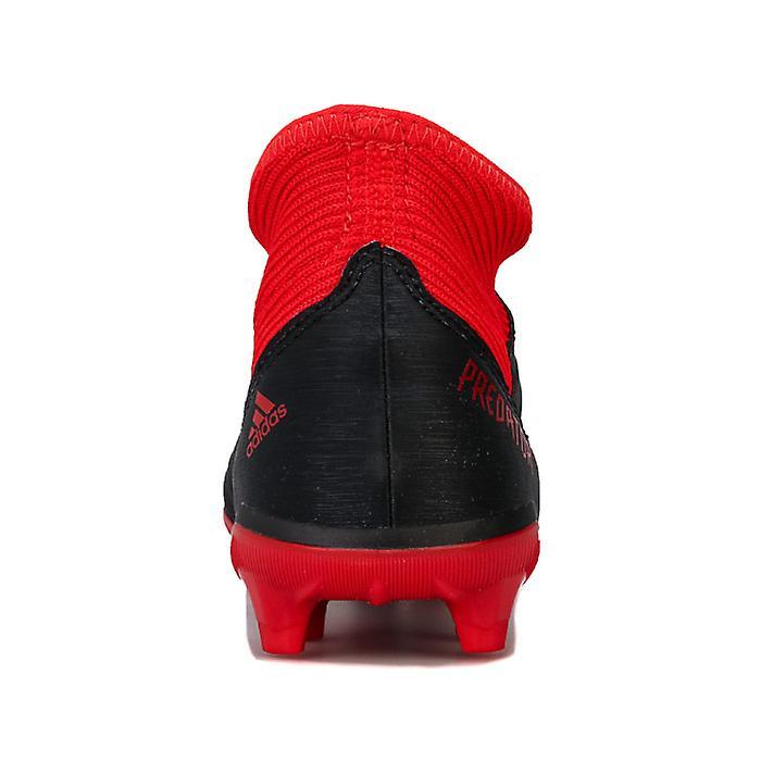 Boy's Adidas Junior Predator 18.3 Fg Football Boots In Black