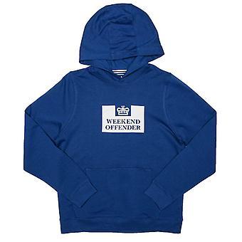 Boy's Weekend Offender Junior Soeento Hoody in Blue