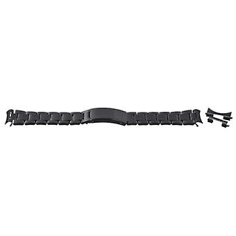 Watch bracelet black pvd plated 12mm-22mm