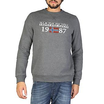 Homme coton long sweat-shirt rond t-shirt haut n19607