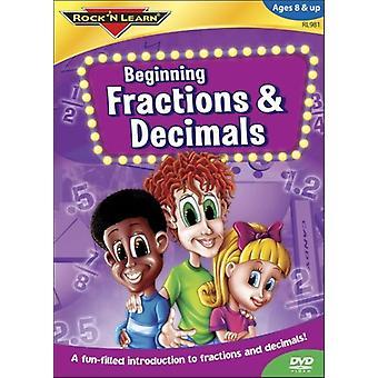 Rock'N Learn - Beginning Fractions & Decima [DVD] USA import
