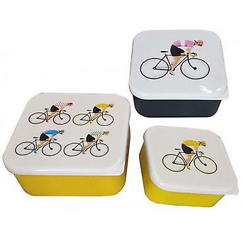 Cycle Works Lunch Boxes (Set of 3)