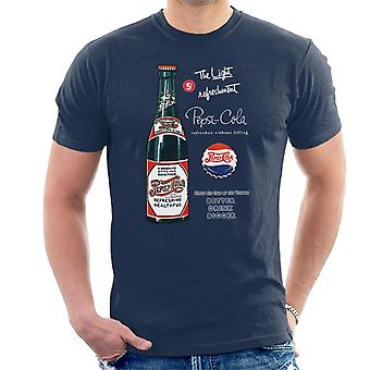 Pepsi Cola Retro 1930s Bottle Ad Men's T-Shirt