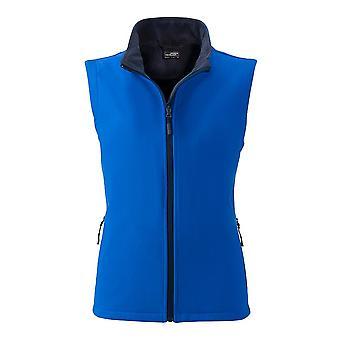 James and Nicholson Womens/Ladies Promo Softshell Vest