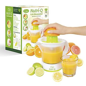 Quest Nutri-Q 1.2L Electric Citrus Fruit Juicer BPA Free