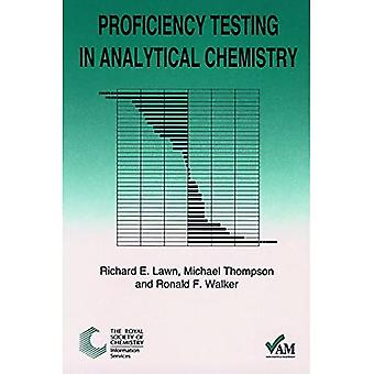 Proficiency Testing in Analytical Chemistry