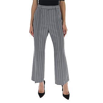 Acne Studios Ak0207lgr Mujeres's Pantalones de lana gris