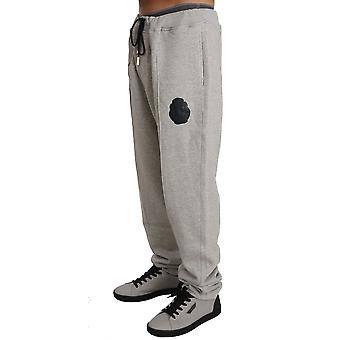 Gray Cotton Sweater Pants Tracksuit BIL1055-1