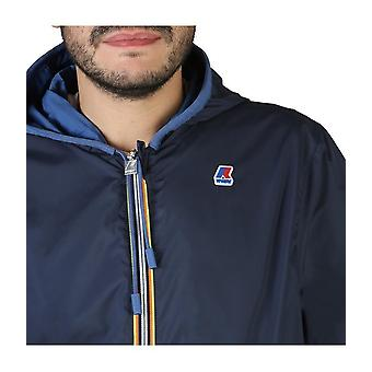 K-Way - Clothing - Jackets - K00BCG0_A00 - Men - dodgerblue,navy - XL