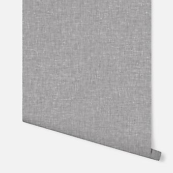 676007 - Lingoline Texture Mid Grey - Arthouse Wallpaper