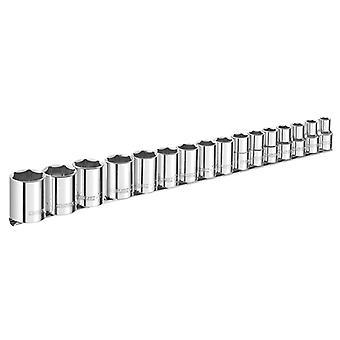 Expert Socket Set of 16 Metric 1/2in Drive BRIE032902B