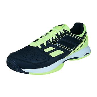 Babolat Cud Pulsion All Court Mens Tennis Trainers / Shoes - Black and Yellow