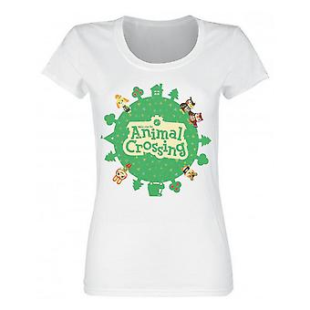 Animal Crossing Womens/Ladies Logo T-Shirt