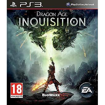 Dragon Age Inquisition PS3 Game (Anglais/Tchèque/Hongrois)