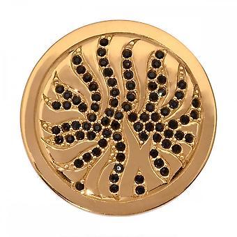 Nikki Lissoni Desert Storm Medium Gold Plated Coin C1103GM