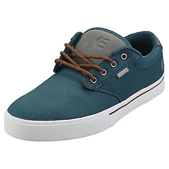 Etnies Jameson 2 Eco Mens Skate Trainers in Navy Grey