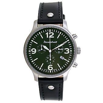 Aristo Men's Messerschmitt Watch Chronograph ME-3H204L Leather