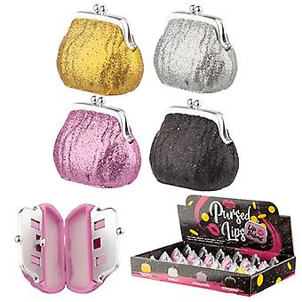 Funky Lip Balm - Glitter Purse Holder X 1 Pack