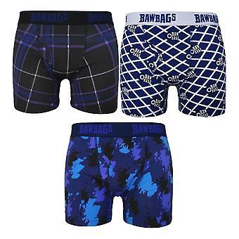 Bawbags Originals Uusi Skotlantilainen 3 Pack Boxers - Multi