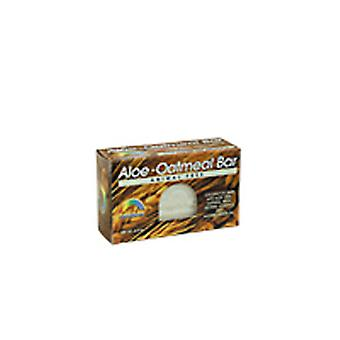Rainbow Research Bar Soap, ALOE-OATMEAL, 4 OZ