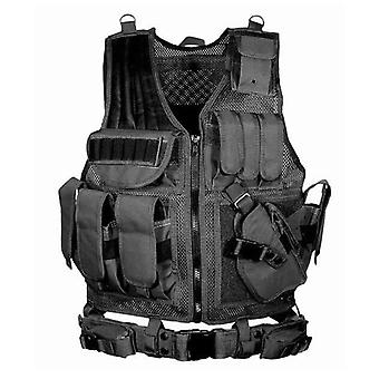 Tactical Vest Military Combat Armor Vests- Mens Tactical Hunting Vest Army,