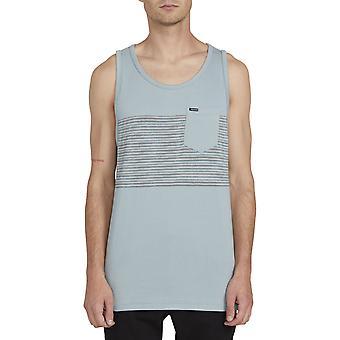 Volcom Forzee Sleeveless T-Shirt in Cool Blue