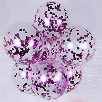 Confettis de scintillement, ballons aériens de latex pour la décoration de mariage/noël/ chéri