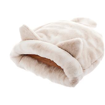 Ferribiella 寝袋 55X55Cm (猫、寝具、イグルー)