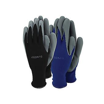 Town & Country Mens Sure Grip Glove Twin Pack TGL508