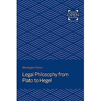 Legal Philosophy from Plato� to Hegel