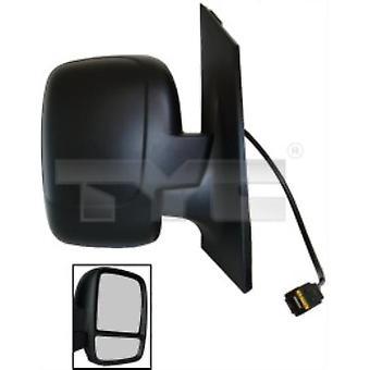 Right Mirror (Elektrisk, uppvärmd, Double Glass, temp. sensor) för Fiat SCUDO Flatbed 2007-2013