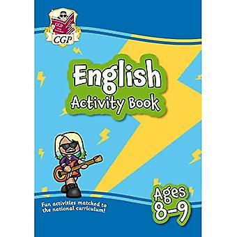 Ny engelsk aktivitetsbog for aldre 8-9