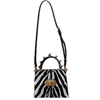 Schwarz weiß Zebra Crossbody willkommen Geldbörse Tasche