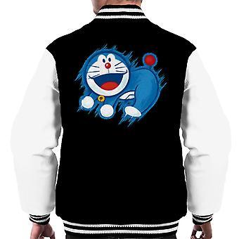 Doraemon The Time King Menn's Varsity Jakke