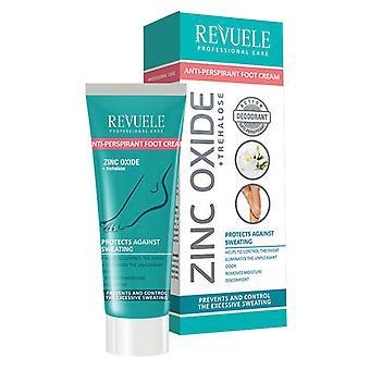Revuele Professional Feet Care Range - Anti-perspirant Foot Cream, 80ml