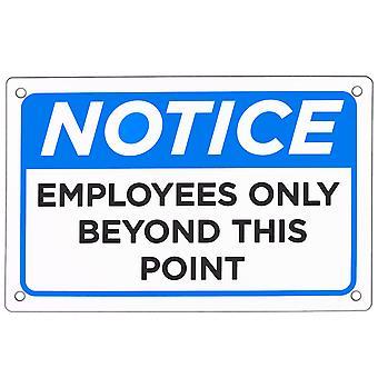 """Mitarbeiter nur Zeichen 18"""" x 12"""""""