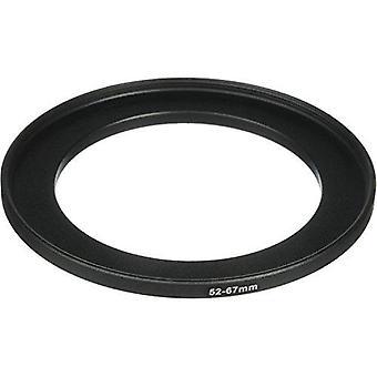 Phot-r® 52-67mm Metall Step-up Ring Adapter für Kamerafilter und Objektive 52 - 67mm