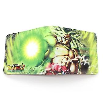 PU leather Coin Purse Cartoon anime wallet --Dragon Ball # 748