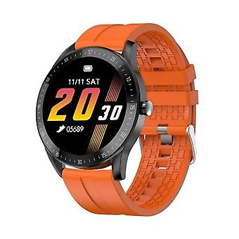 F15 1.3 inç Dokunmatik Akıllı Saat Kalp Atış Hızı İzleme Spor Saatler